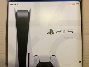 ☆新品未開封☆ PlayStation 5 本体(CFI-1000A01)ディスクドライブ搭載モデル ゆうパック送料込み☆
