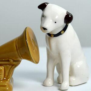 Vicror ビクター ニッパー犬 ビクター犬 蓄音機 音響 S&P ソルト&ペッパー アドバタイジング キャラクター 企業物 ビンテージ 箱付