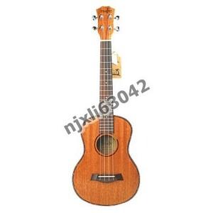U1066:テナー アコースティック エレクトリック ウクレレ 26インチ トラベル ギター 4弦 ウッド マホガニー 楽器