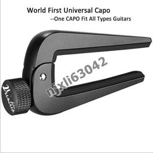 U1156:6弦 12弦 アコースティック クラシック エレクトリックギター ベース マンドリン ウクレレ 弦楽器用 調整可能 ギターカポフィット