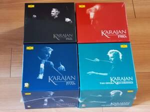 【未開封】 カラヤン Karajan CD box セット オペラ 1960s 1970s 1980s  the Complete DG Recordings 【未使用】