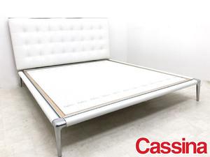N8957【cassina/カッシーナ】L26 VOLAGE bed/ヴォラージュ ベッド/キングサイズ/フィリップスタルク/モダンデザイン/最高級/168万