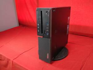 【新品SSD128GB】 lenovo ThinkCentre M700 【Core i3-6100】 ★ Windows 10 ★ メモリ8GB 中古 デスクPC 【30日間保証】