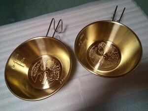 【2個】ワイルドワン ご当地 シェラカップ 名古屋 プレミアムモデル(真鍮製)