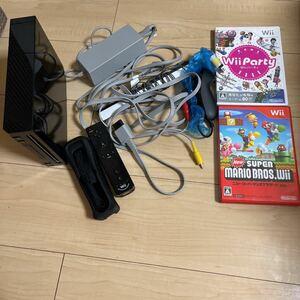 任天堂 Wii 本体 ヌンチャク ソフト2本