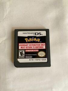 ポケットモンスター DS 配信カートリッジ クラウン3犬 セレビィ 北米版