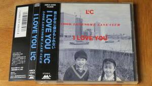 L3C/I LOVE YOU 帯付き LOOK LONESOME LANE CLUB ルック