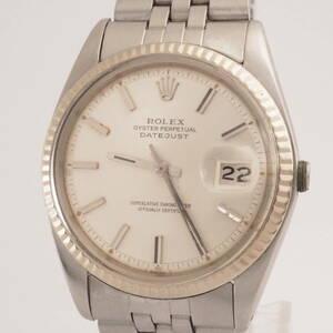 ロレックス オイスターパーペチュアル デイトジャスト Ref,1601 ROLEX OYSTER PERTETUAL DATEJUST Cal,1570 自動巻 男性 腕時計[3447783]
