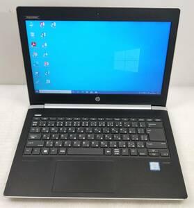 ■驚速小型 HP Probook 430 G5 i3-7020U 2.30Gx4/8GB■SSD128GB+HDD500GB 13.3インチノートPC Win10/Office2019Pro/HDMI/USB3.0■B082403