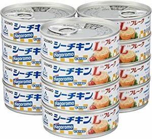 新品70g×12缶 [Amazonブランド] SOLIMO シーチキン Lフレーク 70g×12缶W72O