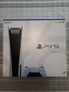 2021年9月22日購入 PS5 PlayStation5 プレイステーション5 本体 CFI-1000A01 ディスクドライブ搭載モデル 新品未開封 安心のMade in Japan