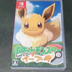 ポケットモンスター Let''s Go イーブイ レッツゴーイーブイ Nintendo Switch ポケモン