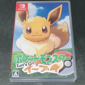 ポケットモンスター Let''s Go イーブイ ポケモンレッツゴーイーブイ Nintendo Switch