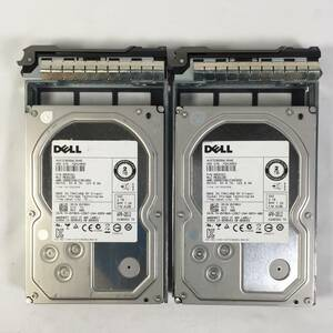 S392262 DELL 2TB SAS 7.2K HDD 3.5 -inch 2 point [ used operation goods ]......