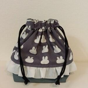 【ハンドメイド】 お弁当袋 巾着袋 コップ袋 巾着 ランチバッグ miffy ミッフィー