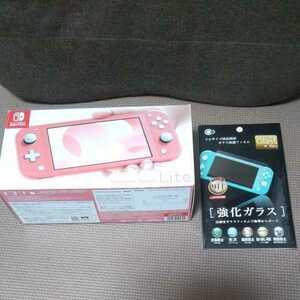 人気 良品 Nintendo Switch lite スイッチライト 本体 コーラル ピンク
