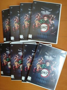 鬼滅の刃  DVD 8巻セット