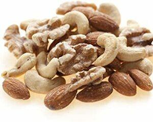 2kg (1kg x 2) 素焼き ミックスナッツ 無添加 無塩 無植物油 2kg (1kg x 2)