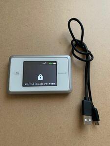 SPEED Wi-Fi NEXT WX03 ホワイトゴールド モバイルルーター UQ WiMAX