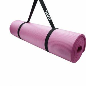 ヨガマット ストレッチマット 筋トレ エクササイズ- 厚さ10㎜ 滑り止め付 ストラップ付 NBR素材-男女兼用 ピラティス、HiiT、体操