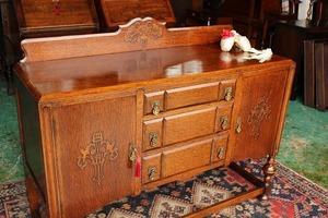 イギリスアンティーク家具 サイドボード キャビネット 英国製 J150