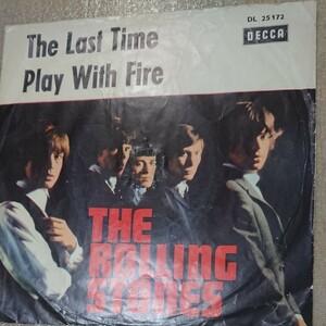 THE ROLLING STONES ドイツ盤オリジナル シングルレコード ザ・ローリング・ストーンズ