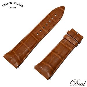 未使用 フランクミュラー 純正 レザーベルト クロコ メンズ 腕時計