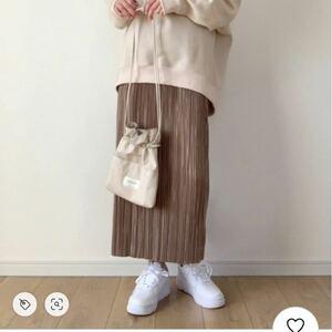 プリーツスカート プリーツロングスカート