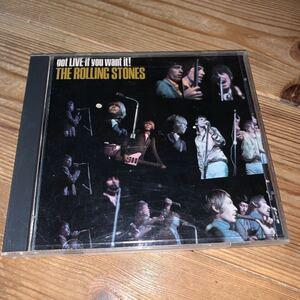 [送料無料] The ROLLING STONES「got LIVE if you want it!」US盤12曲入CD・1986年発売(1966年作品) [74932]※中古CD / abkco