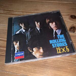 [送料無料] THE ROLLING STONES「12×5」日本盤12曲入CD・1989年発売(1964年作品)[P25L 25032]※中古CD / モノラル