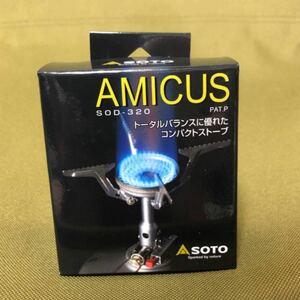 SOTO ガスバーナー アミカス シングルバーナー SOD-320