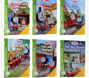 英語絵本Thomas & Friends 6冊+音源データ