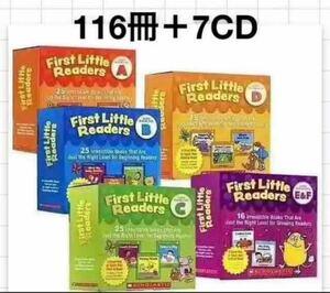 First Little Readers A 〜F 絵本+7CD
