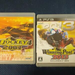PS3 GI JOCKEY 4 2007 ジーワンジョッキー winningpost7 2013 ジャンク