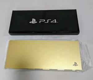 PlayStation4 HDD ベイカバー ゴールド
