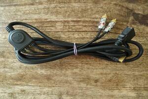 プレイステーション2 D端子ケーブル ps2 約2m 太ケーブル