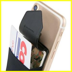 【即決 早い者勝ち】ブラック SINJIMORU 手帳型 カードケース、SUICA PASMO カード入れ パース ケース iphone andro