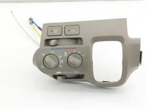 _b70861 ホンダ ライフ G DBA-JC1 エアコンスイッチ パネル トリム カバー 内装 ワイヤー付き L S JC2