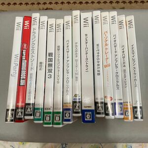 Wii 中古ソフト14本まとめ売り