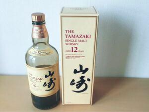 「空き瓶」サントリー山崎12年の空瓶1本+専用箱1枚セット
