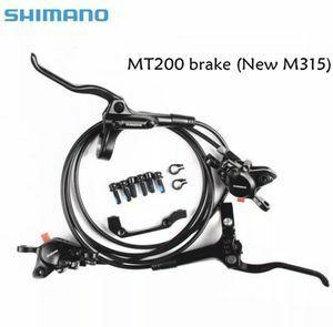 ★シマノ BR-BL-MT200 M315ブレーキ★ 自転車mtb 油圧 ディスクブレーキセット クランプマウンテンバイクブレーキレバー 自転車パーツ