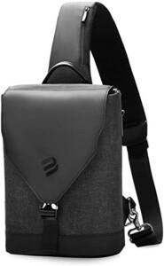 ボディバッグ メンズ 大容量 防水 USBポート付き ワンショルダーバッグ