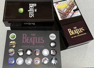 THE BEATLES CDボックス 缶バッジノベルティ付