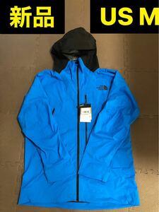 海外限定 新品 ノースフェイス メンズスノーボードジャケット M ブルー 水色 THE NORTH FACE マウンテンパーカー