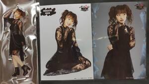 向井地美音 AKB48舞台マジムリ学園LOUDNESS ランダムプロマイド2種コンプ&アクリルスタンドキーホルダー 生写真 ヤフオク限定出品 転載厳禁