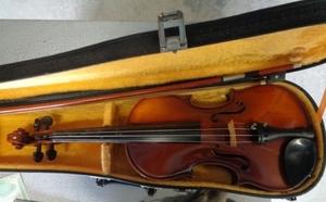 KISOSUZUKI ストラディバリウス Stradivarius 木曽 鈴木 バイオリン SUZUKI STRADIVARIUS COPY 240 弦楽器 楽器 本体&ケース付 コピー