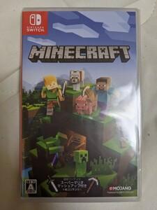 新品未開封 Nintendo Switch ソフト マイクラ Minecraft マインクラフト