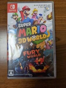 新品未開封 Nintendo Switch ソフト スーパーマリオ3Dワールド + フューリーワールド
