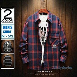 シャツ メンズ 長袖 チェック柄 カジュアルシャツ 長袖シャツ メンズ チェックシャツ カジュアルシャツ ネルシャツ トップス 長袖 メンズ