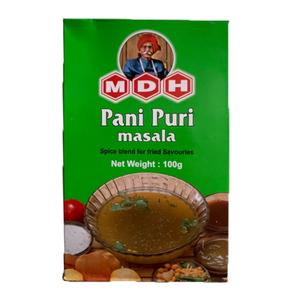 パニプリ マサラ パウダー 100g カレースパイス MDH (ネコポス対応/箱を少し折って出荷) インド産 賞味期限2023.3